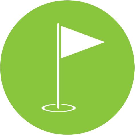 Drapeau Golf