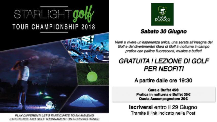 Starlight Golf Locandina_Casal Palocco