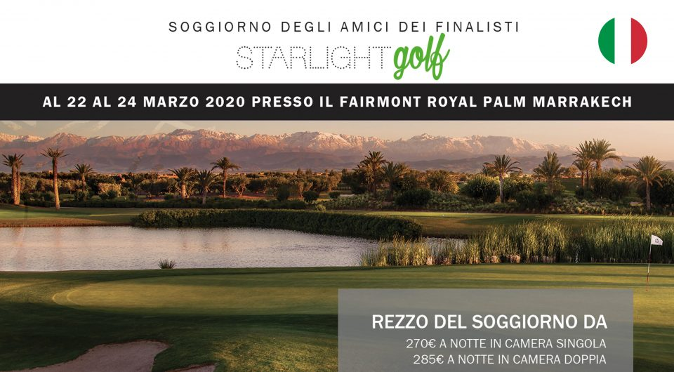 Sticker_Sogiorno Fairmont Royal Palm Marrakech_Starlight Golf Tour Championships 2019_Finale Marzo 2020