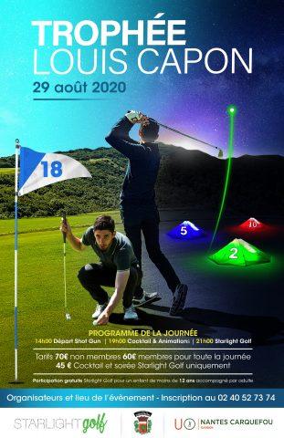 Trophée Louis Capon  au UGolf de Nantes Carquefou avec Starlight Golf