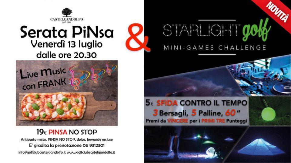 Locandina Starlight Golf Castel Gandolfo_SFIDA Contro il Tempo_130718