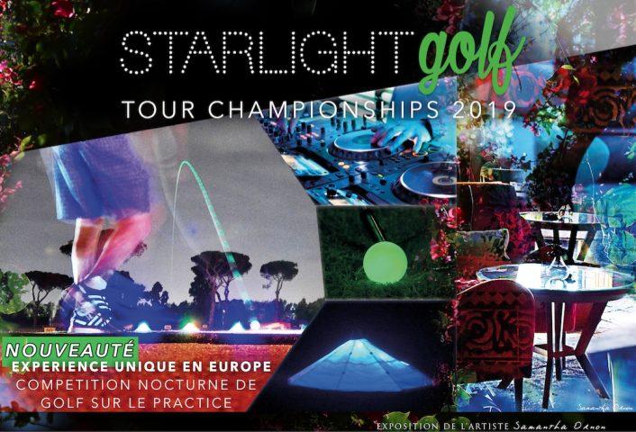 Affiche Officielle STARLIGHT GOLF TOUR CHAMPIONSHIPS 2019_VF_010519