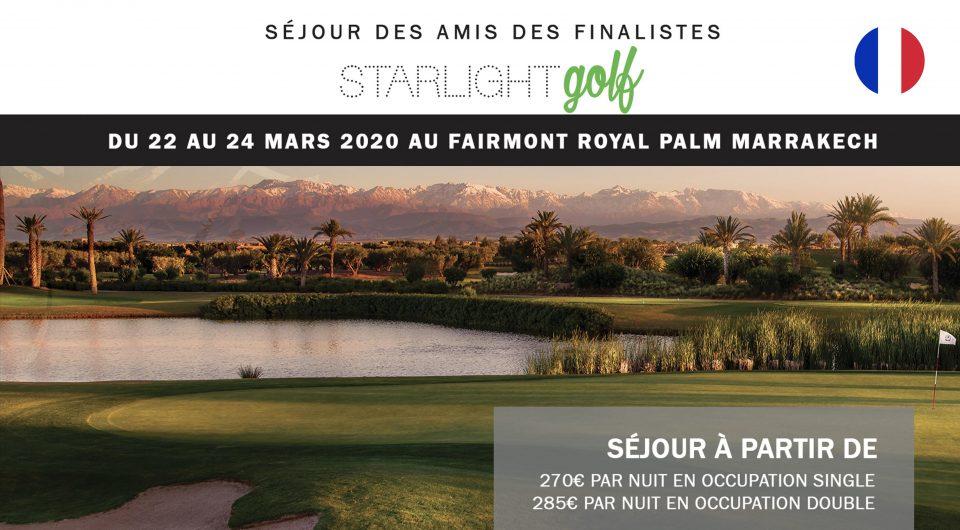 Etiquette_Amis Finalistes Starlight Golf Fairmont Marrakech 2020